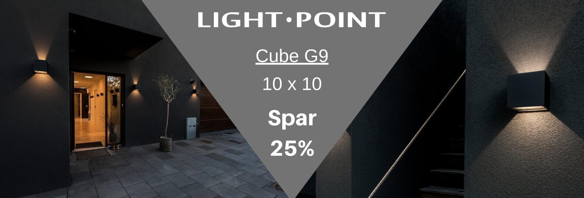 Cube 25% banner