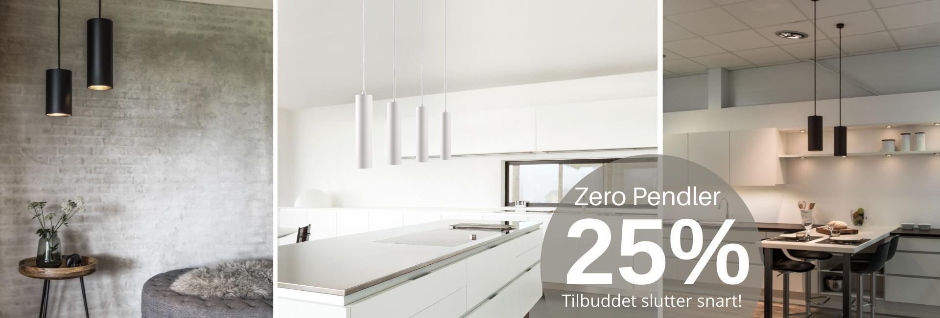 Zero Pendler 25 % 01/08-15/08 Slutter snart